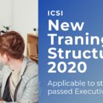 ICSI New traning structure 2020