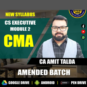 CS Executive CMA Video Lecture by CA...