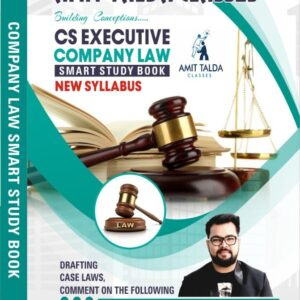 Company Law Smart Studies Book by CA...