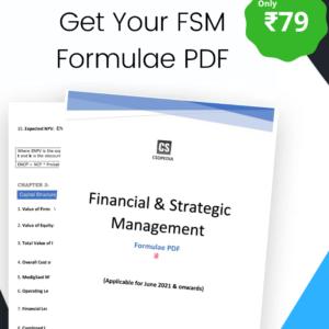 FSM Formulae PDF
