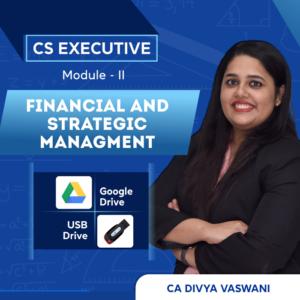 FSM Video Lectures by CA Divya Vaswani