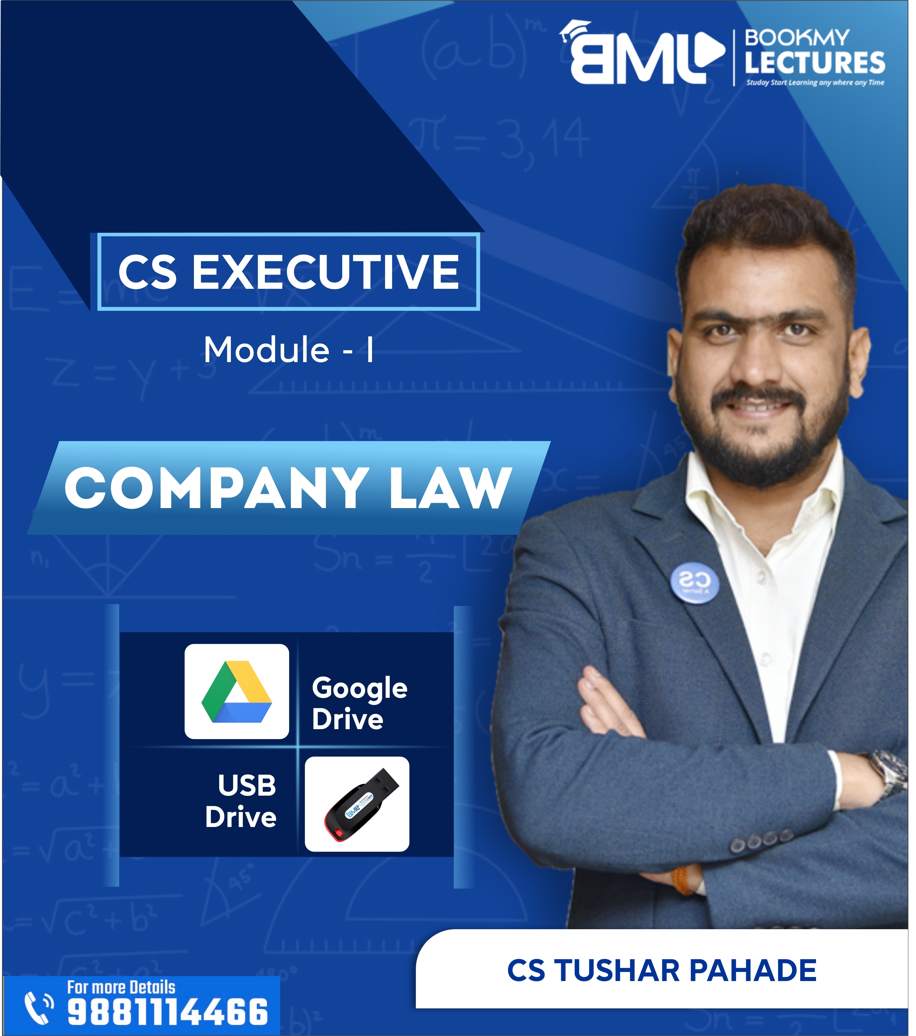 Company Law Video Lecture by CS Tushar...