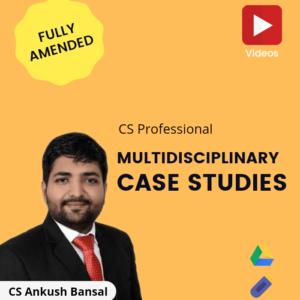 Multidisciplinary Case Studies Video...