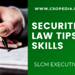 How to study for Securities Law Exam & Paper presentation skills