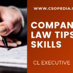 How to study for Company Law Exam & Paper presentation skills