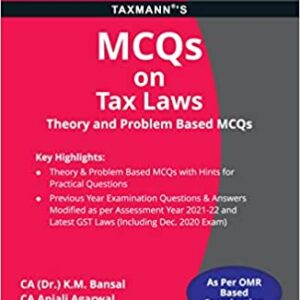 Tax Laws (Theory and Problem Based MCQs)...