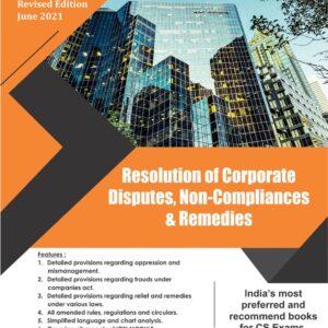 Resolution of Corporate Disputes, Non-...