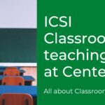 All about ICSI Classroom teaching – How to apply