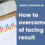 How to overcome fear of facing result?