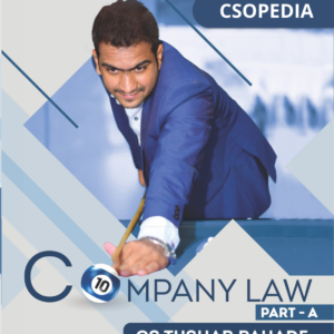 Company Law Book by CS Tushar Pahade