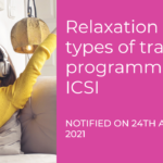 ICSI relaxed in conducting offline training programmes