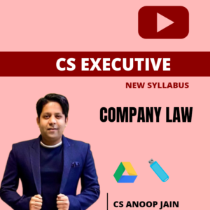 Company Law Lecture by CS Anoop Jain