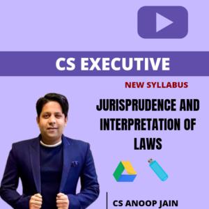 JIGL CS Executive Lectures by CS Anoop...