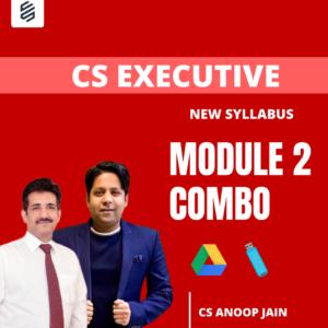 CS Executive Module 2 Combo by CS Anoop...
