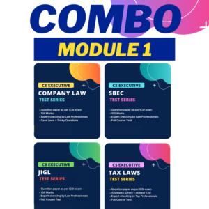 CS Executive Combo Test Series Module...