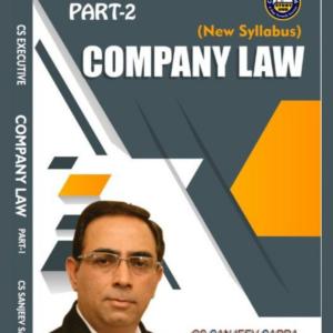CS Executive Company Law Book by CS...