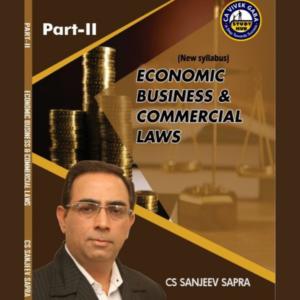 CS Executive EBCL Book by CS Sanjeev...