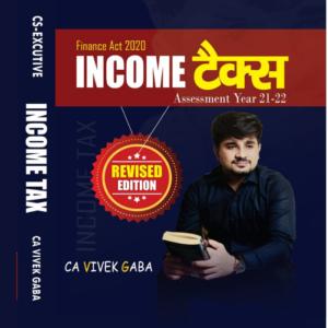 CS Executive Tax Laws Book by CA Vivek...
