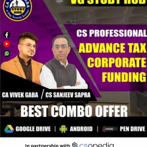 CS Professional TAX + CFL Module 3 Video...