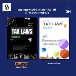 Tax Laws Quicker (Chartbook)