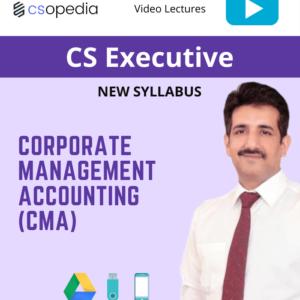 CS Executive – CMA video lectures...